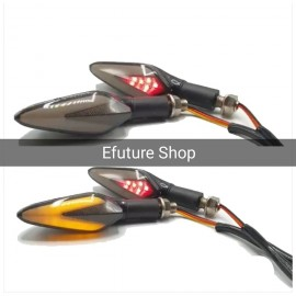 Bike Lava Arrow Indicator Audi Eye Style 2 Pcs