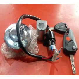Honda Cd 70 Bike Lock Switch Kit With Computer Key And Light