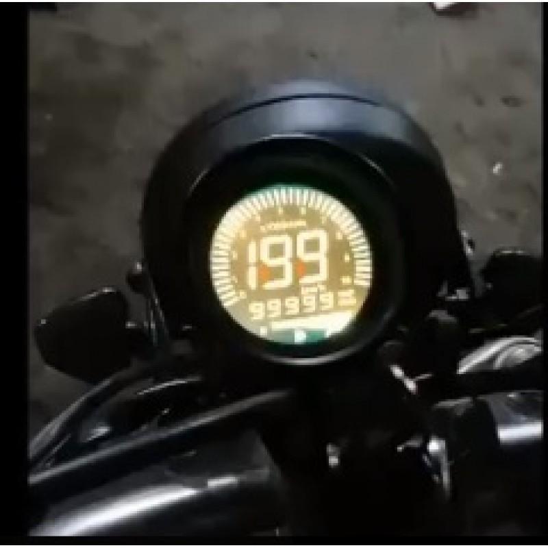 koko kokoelma alkuun tuotemerkkejä voittamaton x Universal Bike Digital Meter Round Shape