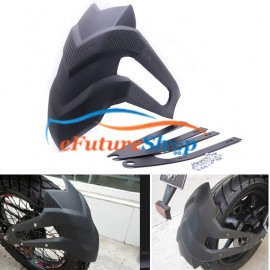 Universal Rear Mudguard Carbon Fiber Style Mudflap For All Bikes
